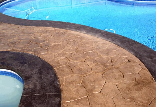 Stamped Concrete Gold Coast - Pool Surrounds, Driveways, Footpaths