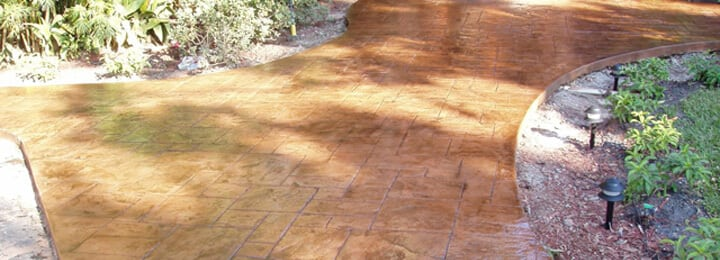 Stamped Concrete Gold Coast - Stamped Concrete Driveways